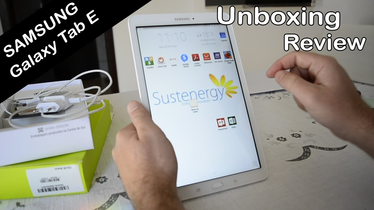 Unboxing Review Samsung Galaxy Tab E