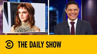 Emma Watson Considers herself 'Self-Partnered' | The Daily Show With Trevor Noah