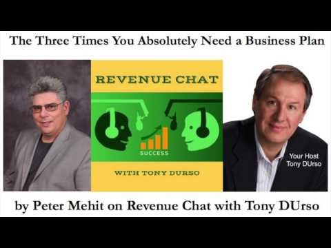 EP68. Peter Mehit: The Three Times You Absolutely Need a Business Plan