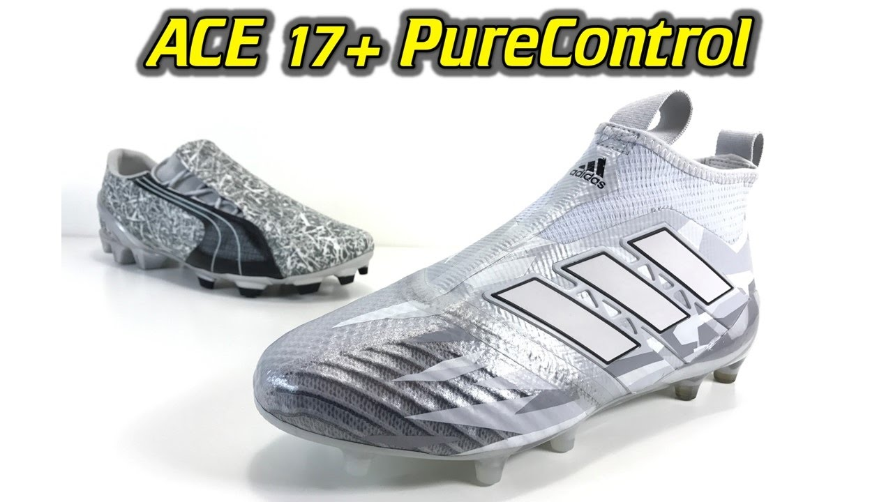 fb51f8a88 Adidas ACE 17+ Purecontrol (Grey Camo Pack) - One Take Review + On Feet. Soccer  Reviews For You