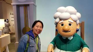 the Google assistant dark ride at CES 2019