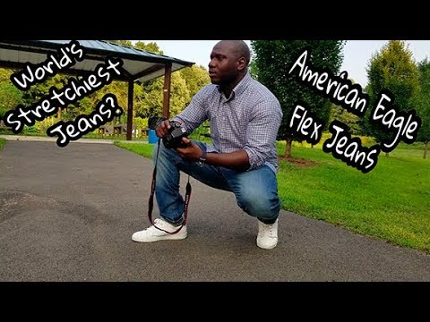 Best Fitting Jeans For The Fit Man | American Eagle