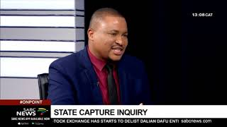 State Capture Inquiry | Thabethe back on the stand