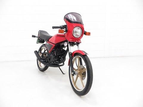 An Early Production UK Kawasaki AR50-A1 in Tremendous Condition - SOLD!