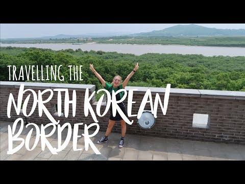 Travelling along the NORTH KOREAN BORDER