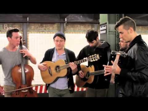Subway Tracks - Hey Marseilles - Lift Your Eyes