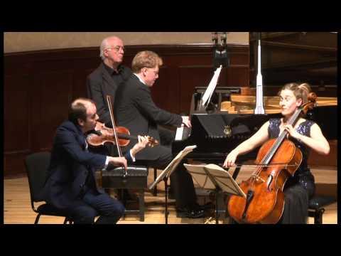 Dvorak Piano Trio No.3 in F minor Op.65 1st mov. Allegro, ma non troppo (Leonore Piano Trio)