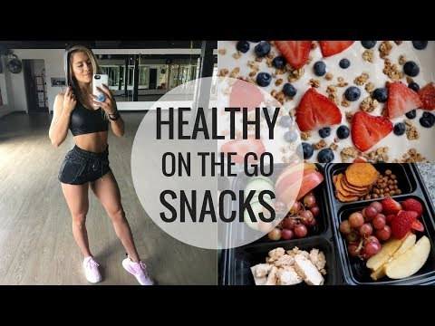 Healthy Snacks For Back To School | Quick & Easy
