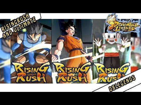 Dragon Ball Legends - Rising Rush (Ultimate Hero Skill)