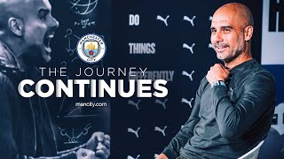 PEP GUARDIOLA CONTRACT EXTENSION | EXCLUSIVE INTERVIEW