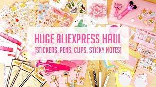 HUGE AliExpress Kawaii Stationery Haul!