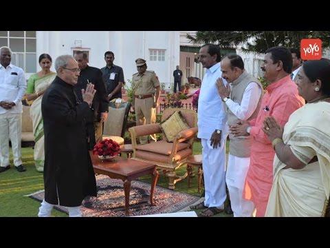 President's Ten-Day Southern Sojourn Details - Pranab Mukherjee In Hyderabad | YOYO TV English