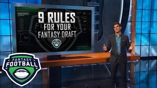 Nine rules you should follow when drafting your fantasy football team in 2018 | ESPN