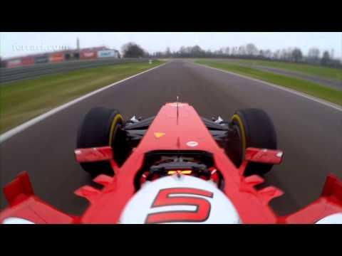 Onboard lap with Sebastian Vettel in Fiorano