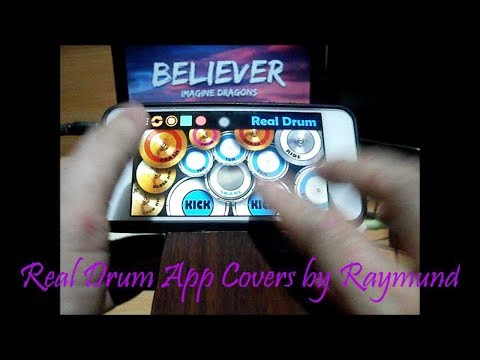 Imagine Dragons - Believer (Real Drum App Covers by Raymund)