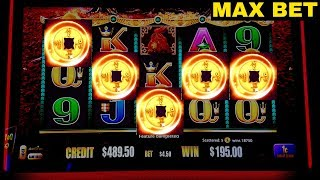 RARE 5 Symbol Bonus TRIGGER On 5 KINGS Slot Machine w/MAX BET  | Live Slot | Las Vegas | Casino