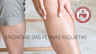 Inquietas síndrome magnésio pernas das