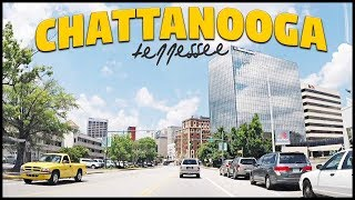 CHATTANOOGA TENNESSEE DOWNTOWN DRIVE