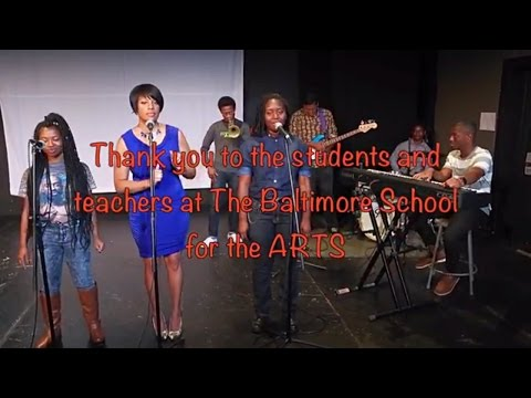 Thank you, Baltimore School for the Arts!