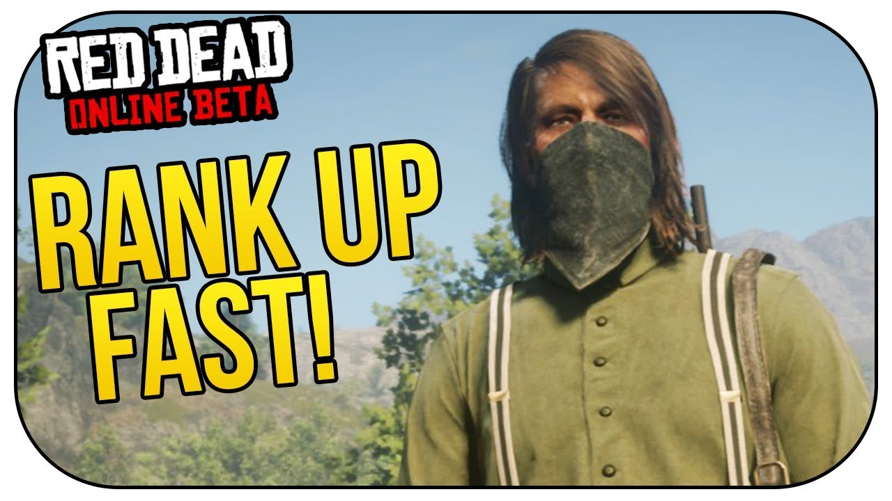 How to RANK UP FAST (SOLO) in Red Dead Online!