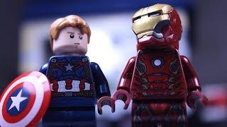 LEGO Мстители: Гражданская Война все серии / LEGO Avengers: Civil War full version