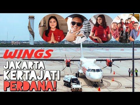 Perdana! WINGS AIR Jakarta Ke Kertajati Feat. FO Ryo Ramadhan SERU PUOOL!