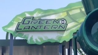 Green Lantern Review HD Six Flags Great Adventure B&M Stand-Up Coaster