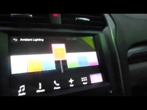 2017-2020 Ford Fusion - Interior Ambient Lighting