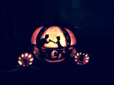 Cinderella Pumpkin Carving Youtube