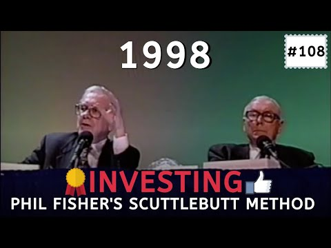 How Phil Fisher's Scuttlebutt Method Should Be Used, Advice By Warren Buffett. [C:W.B Ep.108]