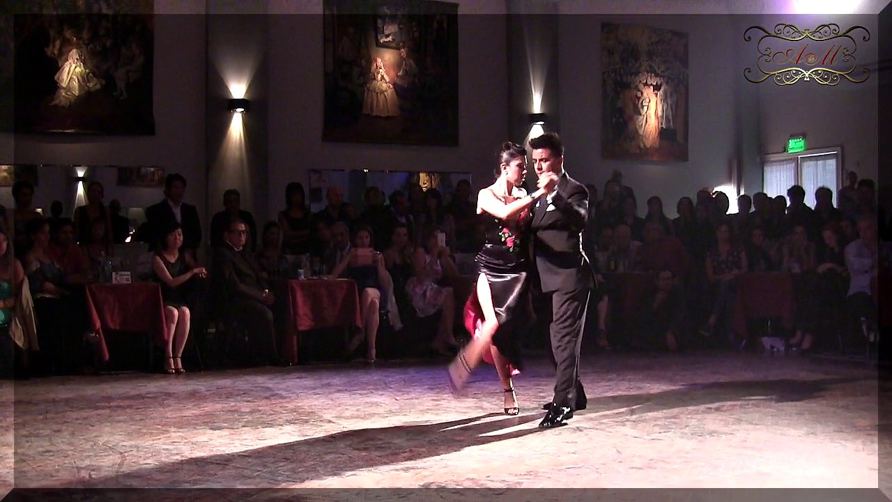 Sebasti n achaval rozana suarez sal n canning for A puro tango salon canning