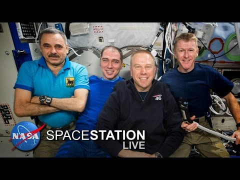 Space Station Live: Nutrition, Genetics and Vision in Space