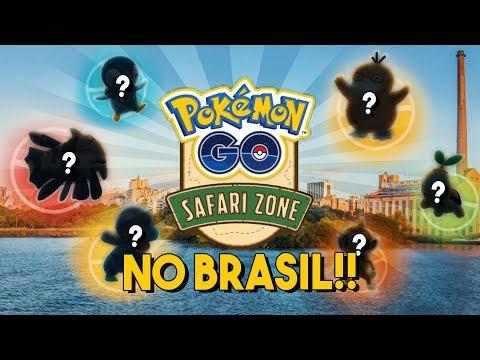 CONFIRMADO: EVENTO SAFARI ZONE NO BRASIL!! SAIBA TUDO! | Pokémon GO thumbnail