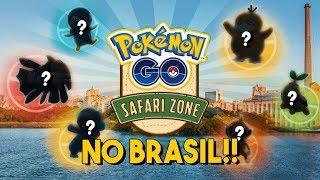 CONFIRMADO: EVENTO SAFARI ZONE NO BRASIL!! SAIBA TUDO! | Pokémon GO