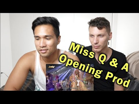 Vice Ganda at Miss Q & A Candidates Opening prod! | REACTION