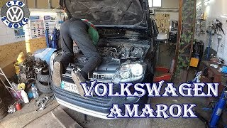 Volkswagen Amarok.Обзор на СТО.Конструкция ходовой.