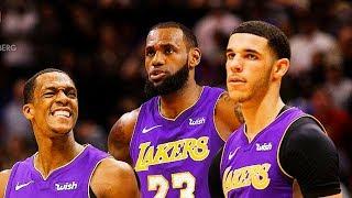 LeBron James Gets Lakers Teammates Ready For Season (Parody)