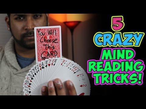 Crazy Mind Reading Card Tricks Tutorial