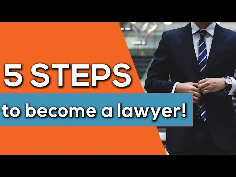 How to Become a Lawyer (in just 5 Steps!)