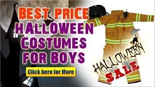 New Boy Halloween Costumes Review - Amazing Fireman - Firefighter Kids Halloween Costume!