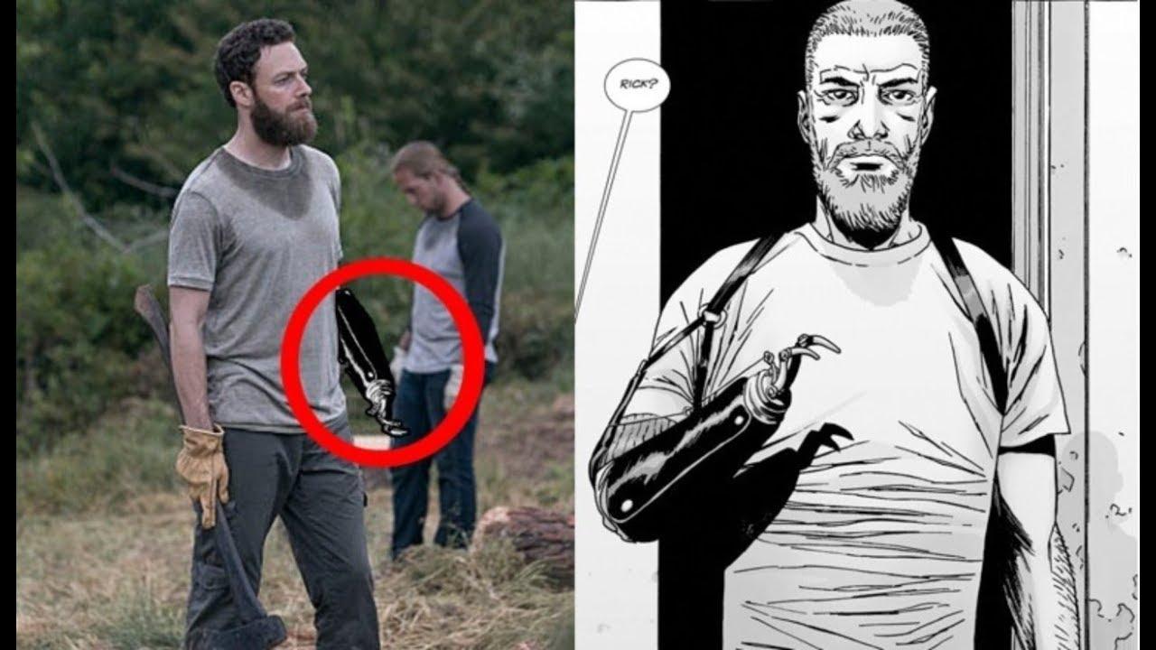 The Walking Dead Season 9aaron To Become Rick Youtube