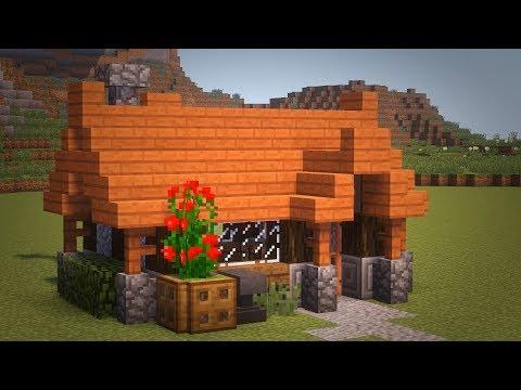 Как сделать красивый маленький дом в майнкрафте
