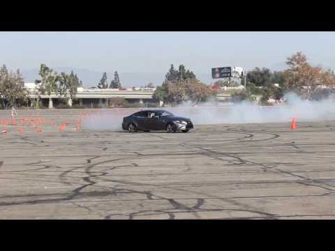 Lexus ISF Drift Demo