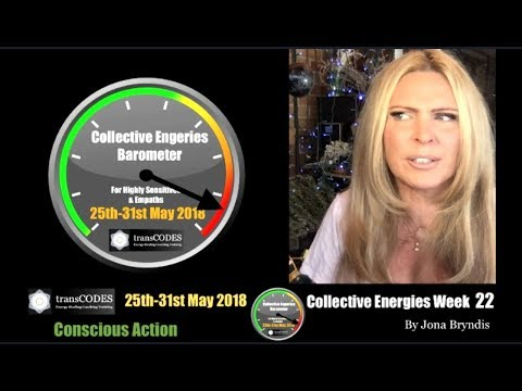 25th-31st May 2018 Energy Update & Energy Tips For Empaths (Week 22): CONSCIOUS ACTION