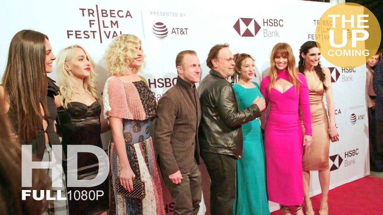 Untogether premiere arrivals & photocall: Billy Crystal, Alice Eve, Lola,  Jemima Kirke, Emma Forrest
