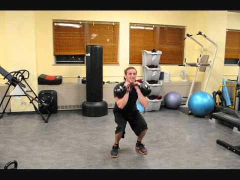 Clayton Peterson Fitness Kettle bell Demo