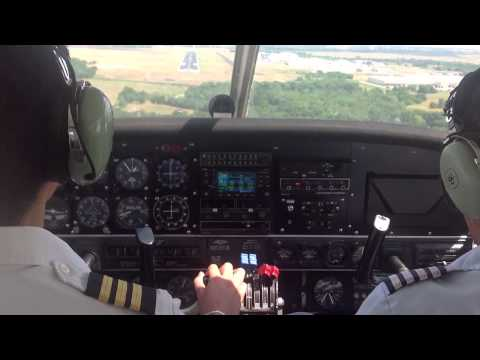 Landing Denton | KDTO | Piper Seneca