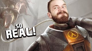 I Waited 15 YEARS to Play This.... - Half Life Alyx - Part 2