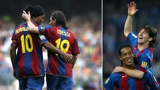 Why Messi might have never won a Ballon d'Or without Ronaldinho