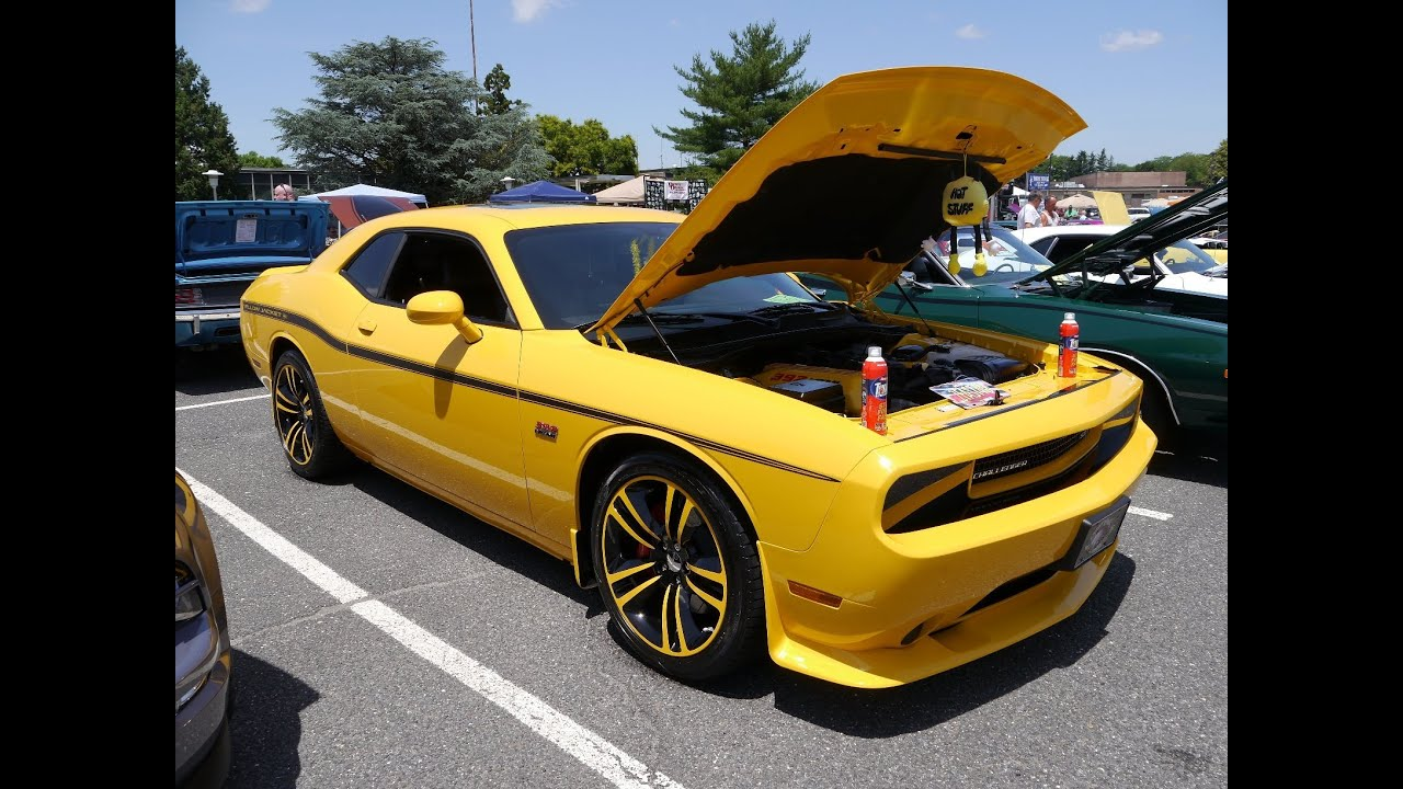 2012 Dodge Challenger Yellow Jacket Srt8 Youtube